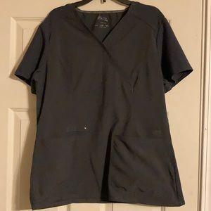 Medium iflex pewter grey scrubs